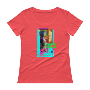 AV - Pixsheos Power - *Women's Scoopneck T-Shirt*
