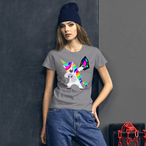 Image of YM - Dabing Unicorn - *Women's Premium T-shirt*