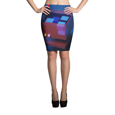 Image of FY - Voxie Drink - *Women's Pencil Skirt*