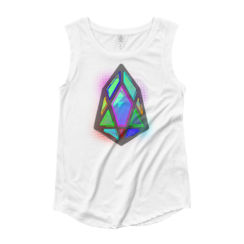 Image of FY - pixEOS Hub - *Women's Cap Sleeve T-Shirt*