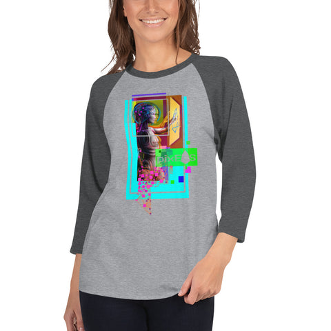 AV - Pixsheos Power - *Women's 3/4 sleeve Shirt*
