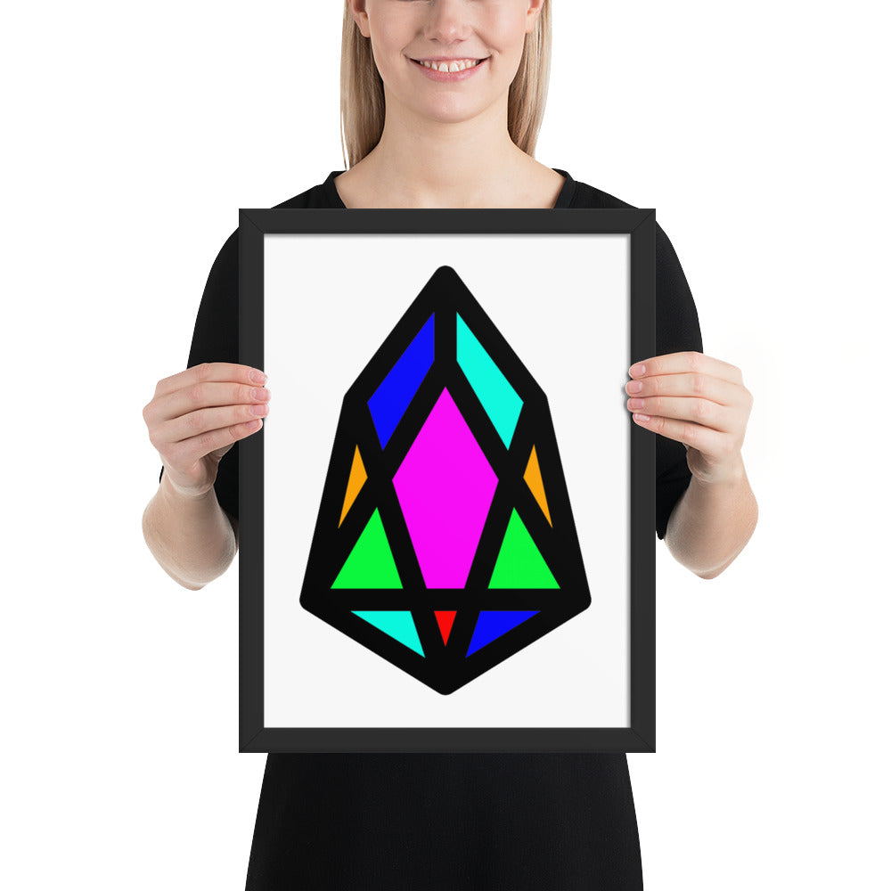 PIX - pixEOS Logo Classic - *Photo Paper Framed Poster*