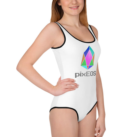 Image of PIX - pixEOS logo 3D 2 - *Youth Swimsuit*
