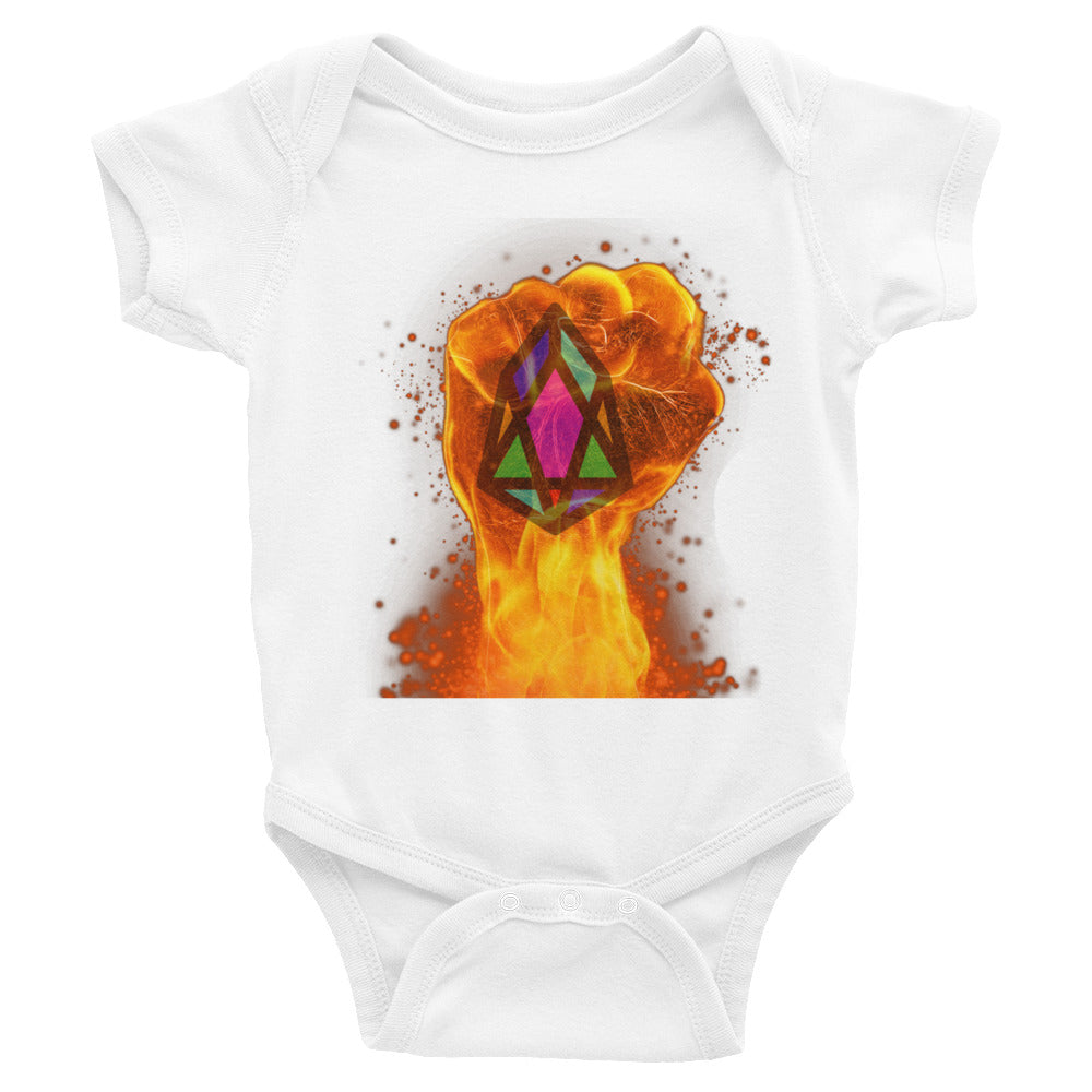 PIX - pixEOS FLAMING FIST - *Baby Bodysuit*