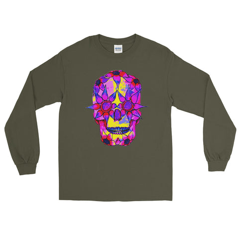 OP - Pink Skully - *Unisex Long Sleeve T-Shirt*