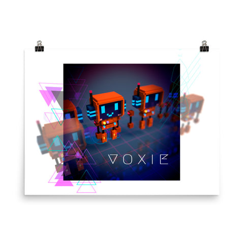 Image of FY - Cyberpunk Voxie - *Poster*