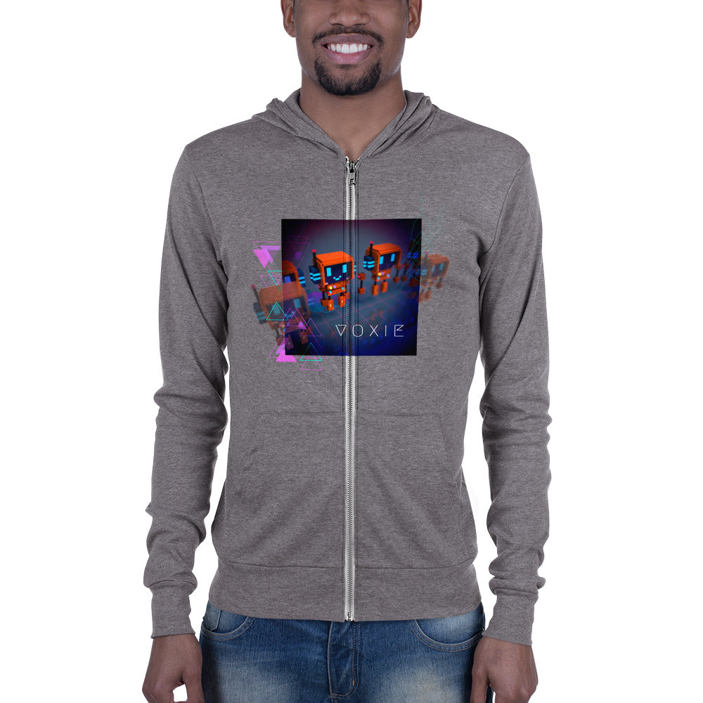 FY - Cyberpunk Voxie - *Men's Zip-Up Hoodie*