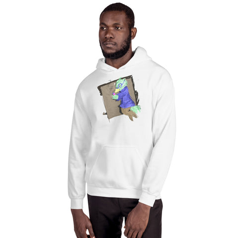"HA - ""VR pixEOS Bird/Hailey""  - *Men's/Women's/Unisex Hooded Sweatshirt*"