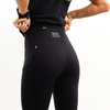 Signature Black Crop Leggings
