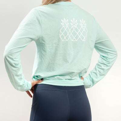 Transition Long Sleeve Tee UNISEX - Mint