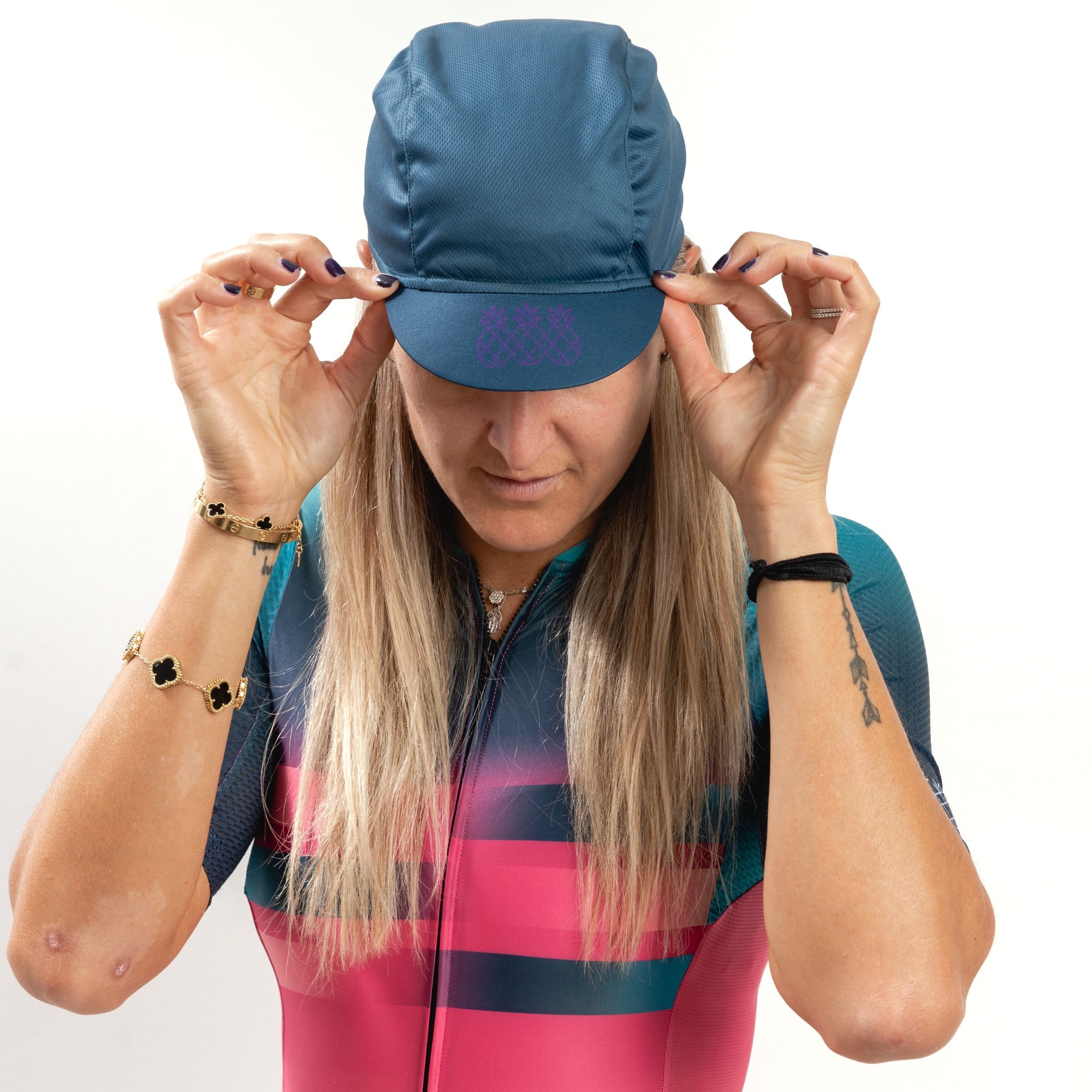 Smooth Blues Cycling Cap