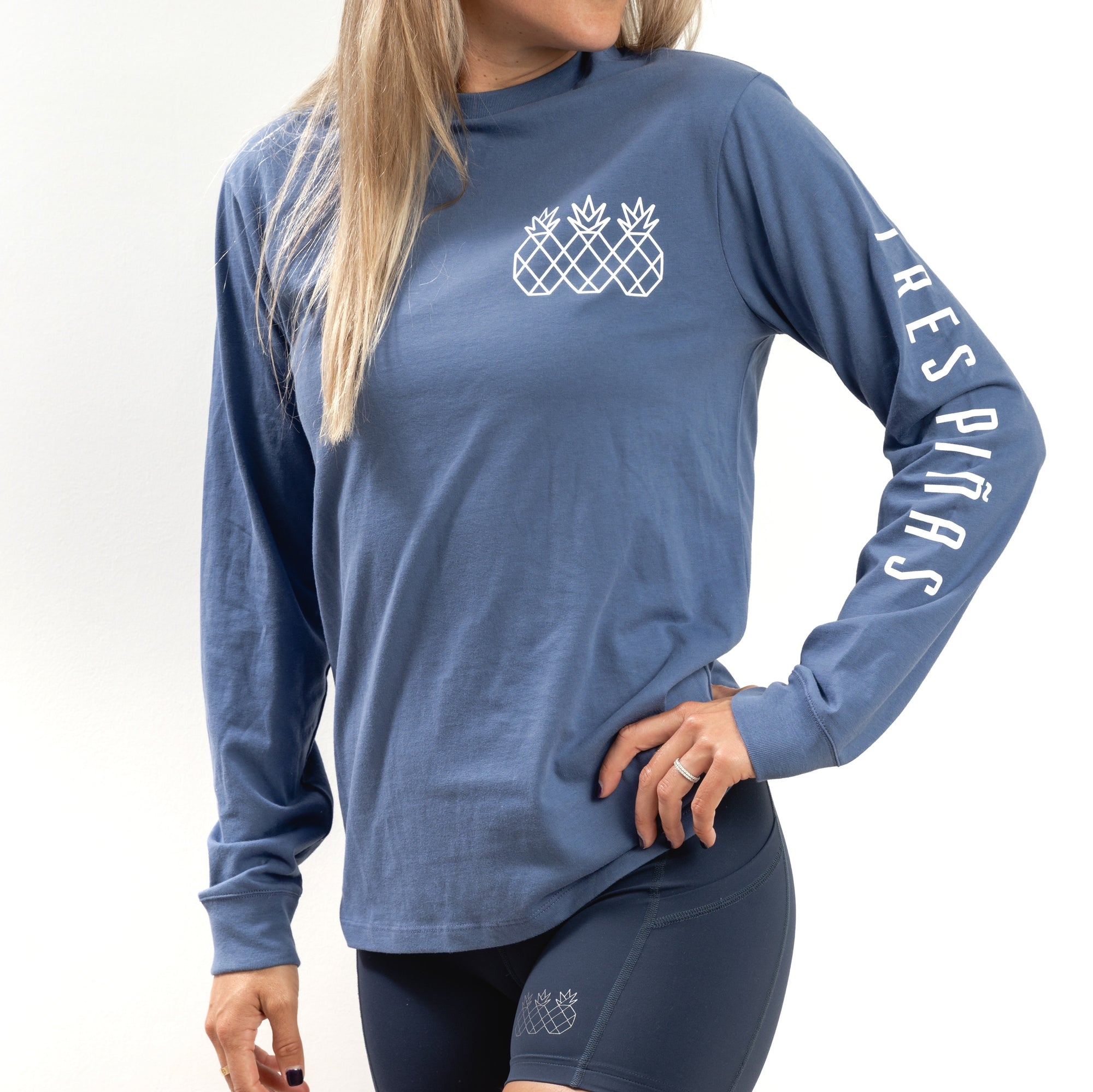 Transition Long Sleeve Tee UNISEX - Blue