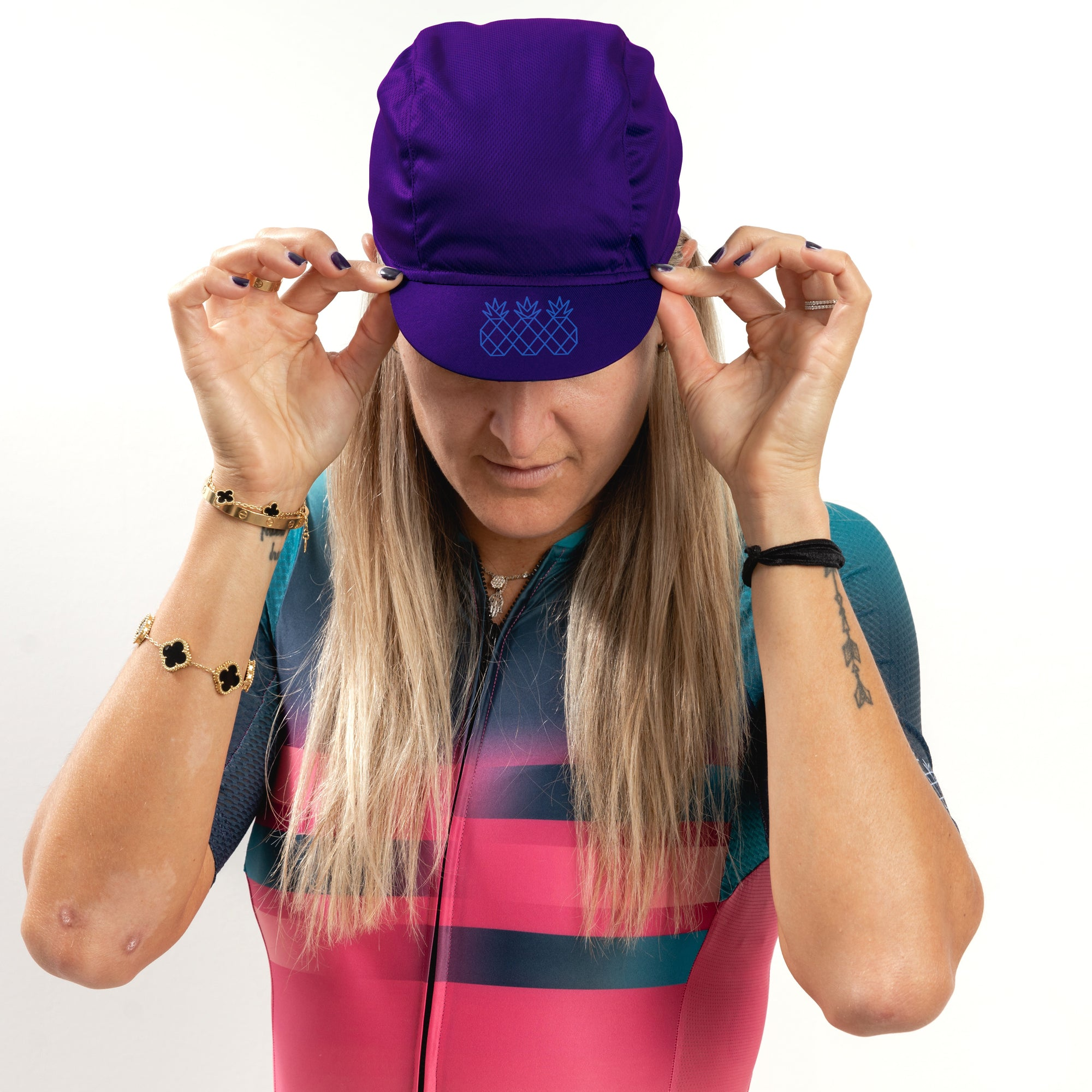 Passionate Purple Cycling Cap