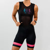 Women's Nero Rosa Cycling Bibs