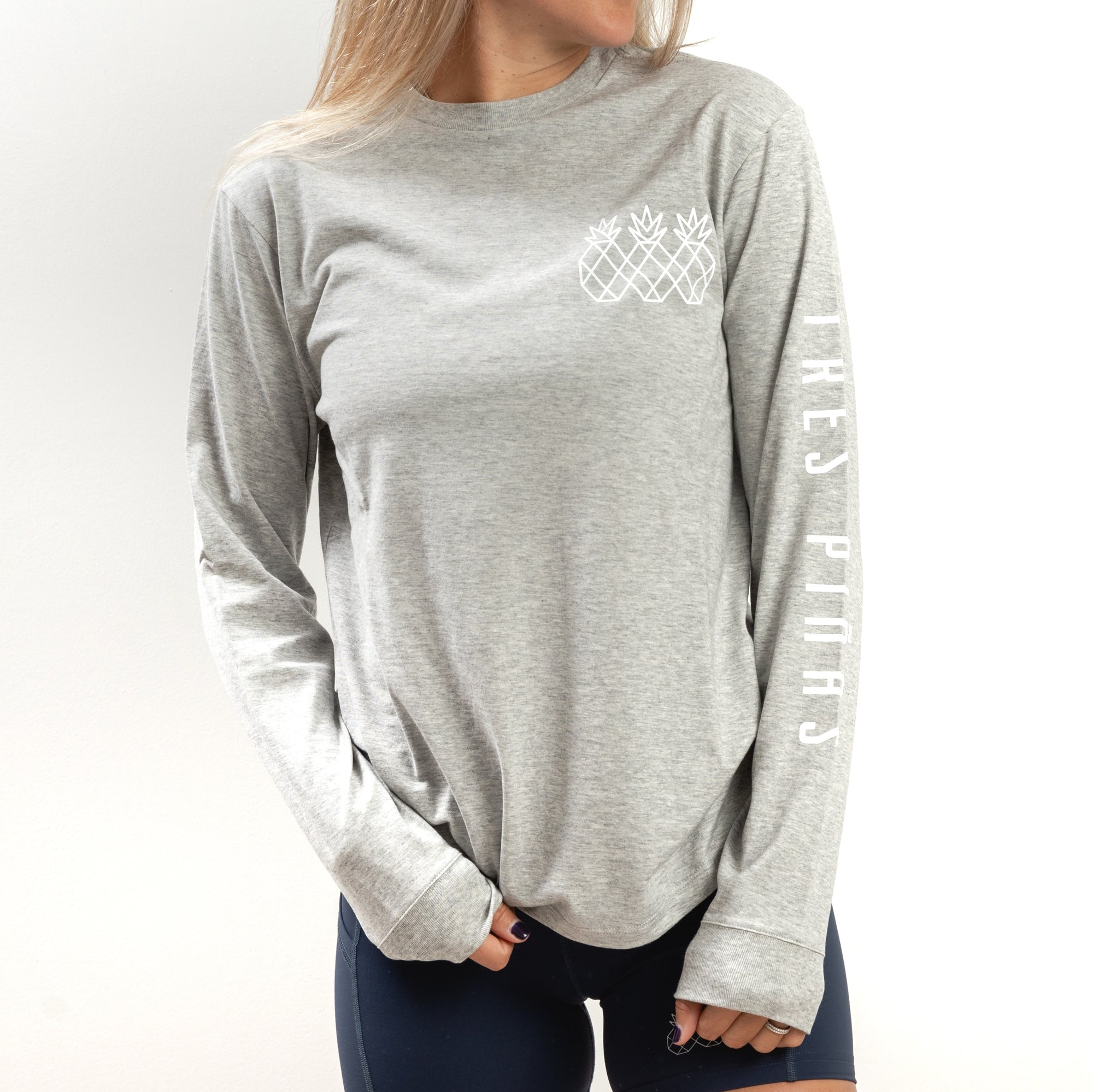 Transition Long Sleeve Tee UNISEX - Grey