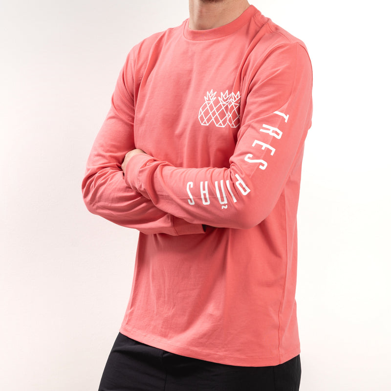 Transition Long Sleeve Tee UNISEX - Coral