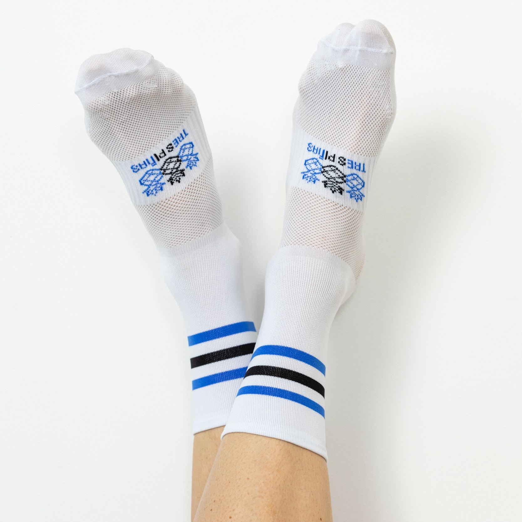 Black and Blue Socks