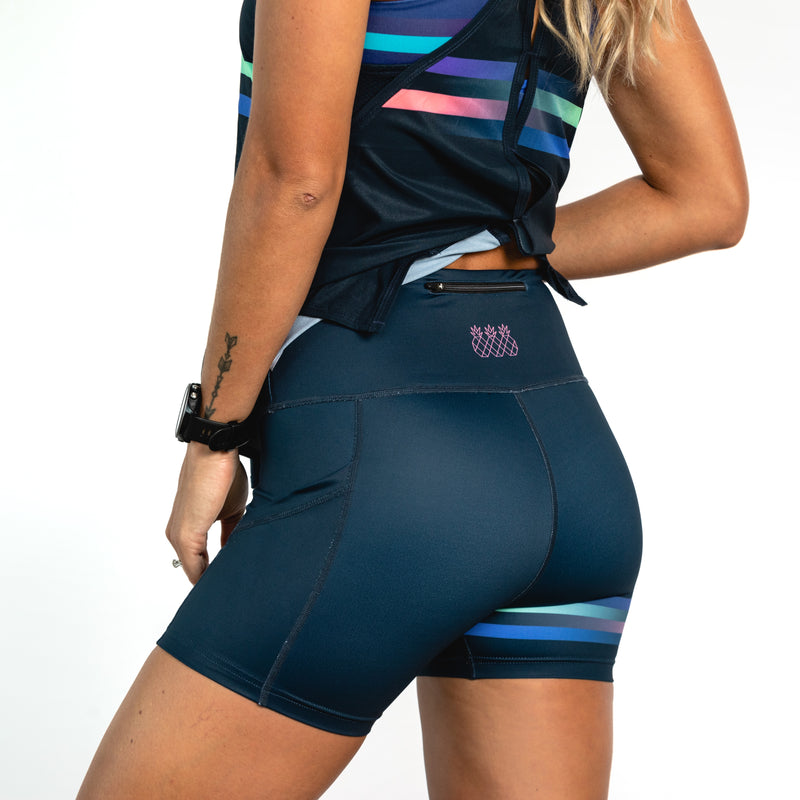 Phantom Tight Running Shorts - Dark Navy