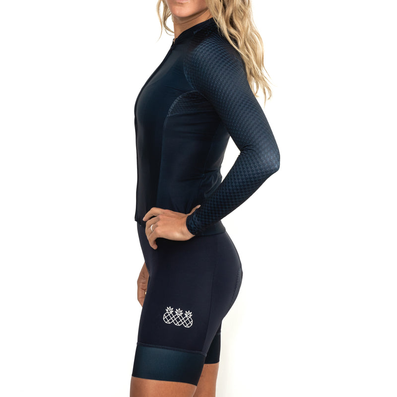 Women's Dark Navy Long Sleeve Jersey