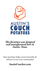 Furniture Made In Austin. Made Here. Made Better.