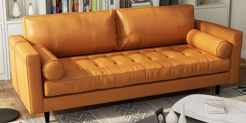 ladybird leather couch
