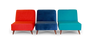 Niko Armless Accent Chair