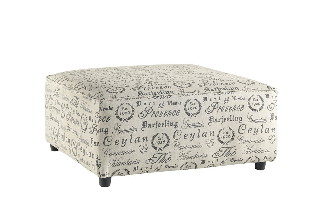 Alenya Ottoman - Austin's Couch Potatoes Furniture