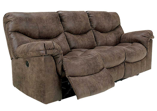 Alzena Gunsmoke Reclining Living Room Set - Austin's Couch Potatoes Furniture