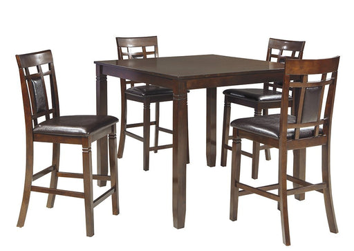 Bennox Brown Dining Room Counter Table Set - Austin's Couch Potatoes Furniture