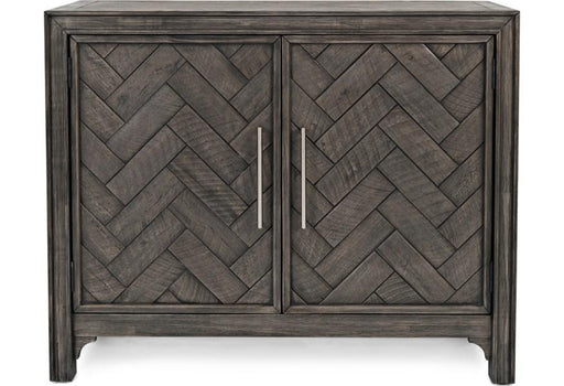 Chevron Accent Cabinet - Austin's Couch Potatoes Furniture
