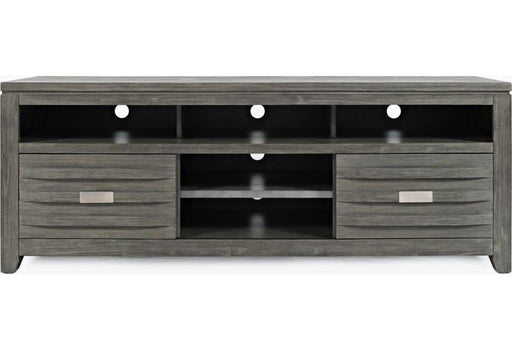 "Copy of Copy of Skyline Brushed Grey 70"" TV Stand - Austin's Couch Potatoes Furniture"