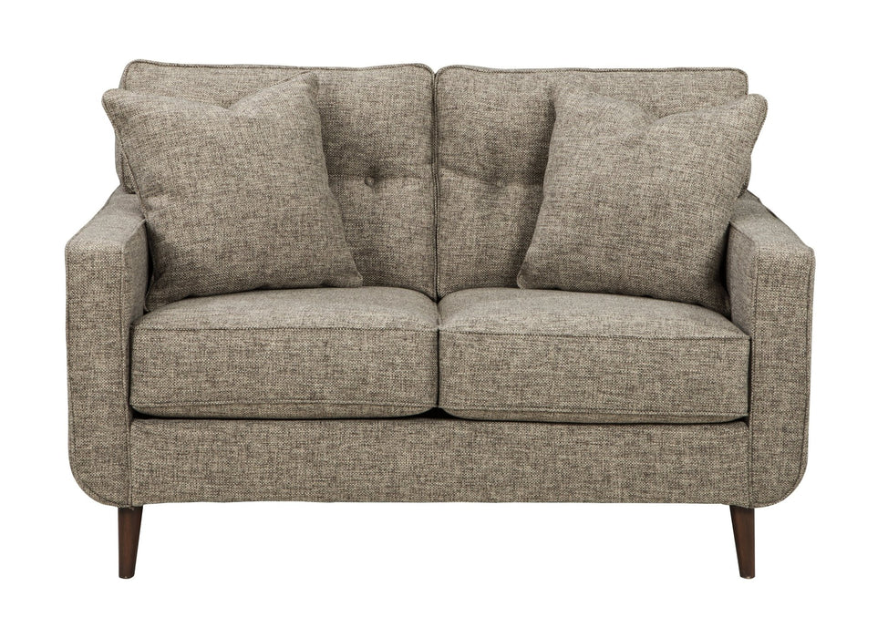 Dahra Jute Loveseat - Austin's Couch Potatoes Furniture