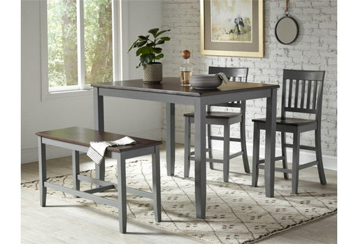 Decker Lane 4 piece Counter Height Dining Set - Austin's Couch Potatoes Furniture