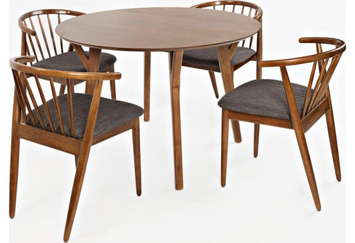 Denmark 5 piece Round Dining Set - Austin's Couch Potatoes Furniture