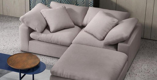 Fluffy 3pc Sectional - Austin's Couch Potatoes Furniture