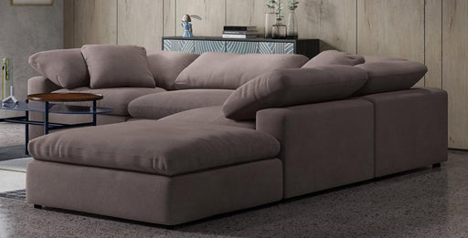 Fluffy 5 piece Sectional