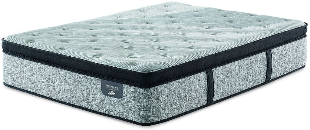 Frisco Lux Hybrid Firm Euro Pillow Top Mattress - Austin's Couch Potatoes Furniture