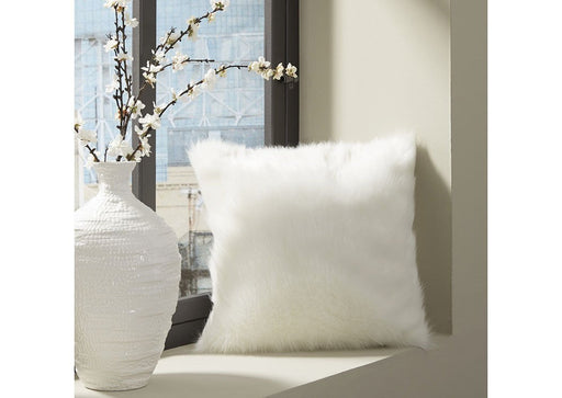 Himena White Pillow - Austin's Couch Potatoes Furniture