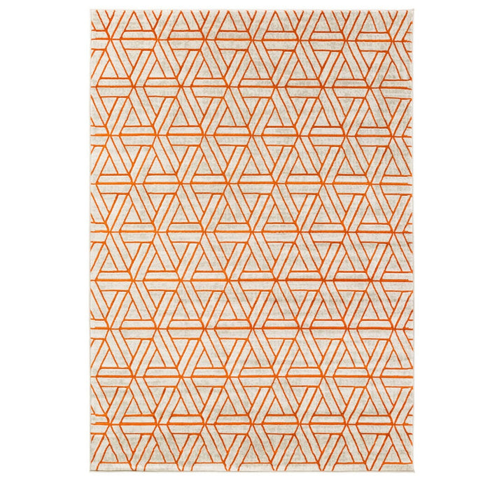 Jax Orange Area Rug - Austin's Couch Potatoes Furniture
