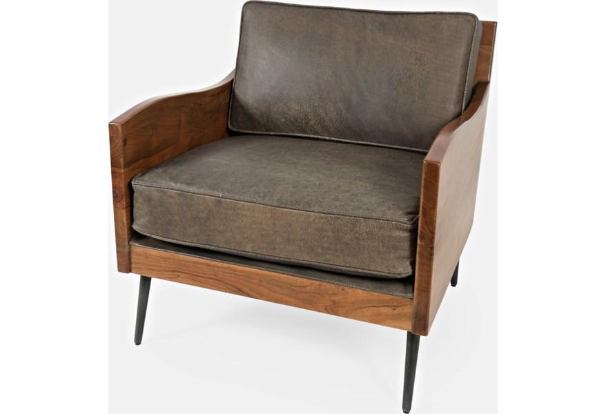 Karma Bourbon Accent Chair - Austin's Couch Potatoes Furniture