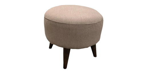 Katy Round Accent Ottoman - Austin's Couch Potatoes Furniture