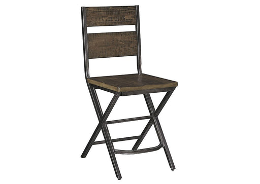 Kavara Medium Brown Barstools - Austin's Couch Potatoes Furniture