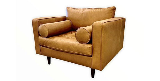 Ladybird Leather Chair - Austin's Couch Potatoes Furniture