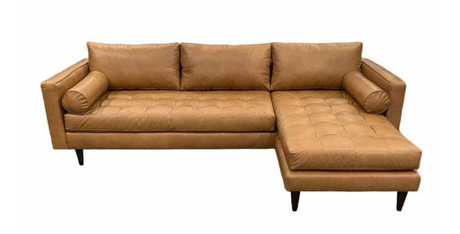 Ladybird Leather Reversible Chaise Sofa - Austin's Couch Potatoes Furniture