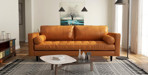 Ladybird Leather Sofa