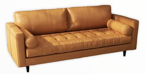 Ladybird Leather Sofa - Austin's Couch Potatoes Furniture