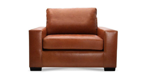 Leather Mesa Chair - Austin's Couch Potatoes Furniture