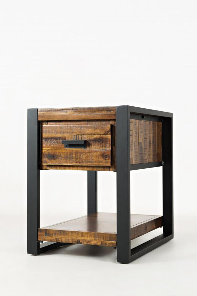 Loft Chairside End Table - Austin's Couch Potatoes Furniture