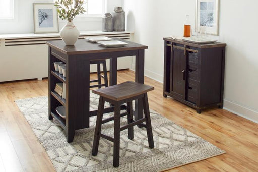 Madison County 3 pc Counter Pub Set - Austin's Couch Potatoes Furniture