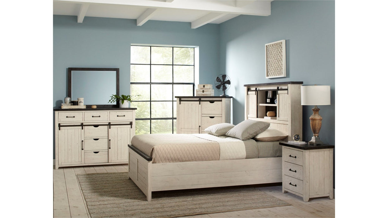 Madison County King Bed - Austin's Couch Potatoes Furniture